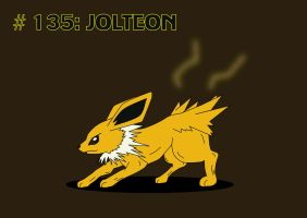 Day #4 - Jolteon by TheSaure55