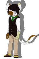 :COMM: Henry Mouse by AquatheOhioKitty