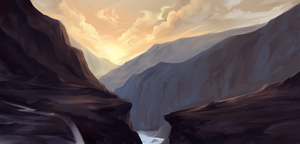 Mountains by Innali