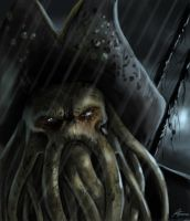 Cap. Davy Jones by highdarktemplar