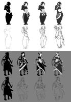 Character Silhouettes Refine by CedricVictor