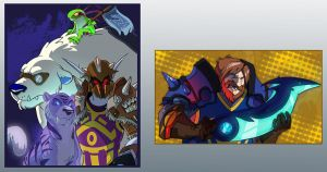 Blizzcon Badges 1 by doingwell