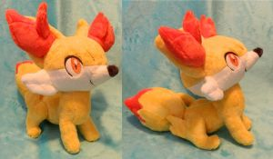 Fennekin -SOLD- by Lexiipantz