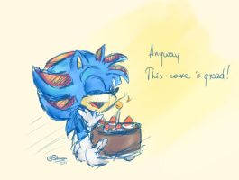 GT: Anyway this cake is great by SimonTheFox1