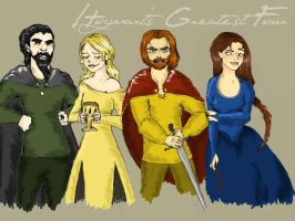 The Four Founders by MioneBookworm