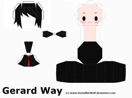 Gerard Way Folds by SnowBlueWolf