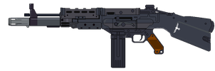 Assault Rifle 1960 by Ruiner3000