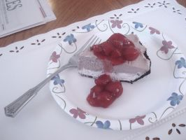 Homemade Black Forest Cheesecake by cake5313