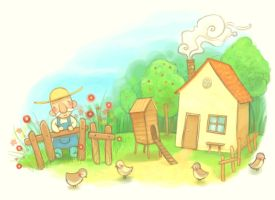 Chicken house by Adelaida