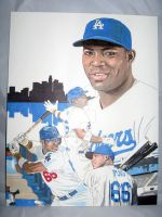 Yasiel Puig  LA Dodgers outfielder by coachp42
