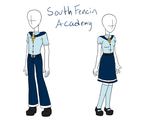 South Fencin Academy Uniform by RougeChocobo