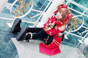 Silica cosplay SAO- sword art online by Korixxkairi