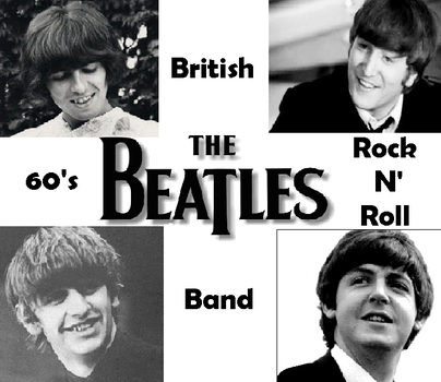 The Beatles by CloudySkyCupcake