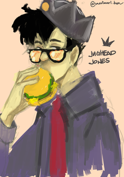 Rough Doodle of Jughead by morikn