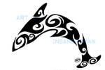 Dolphin Tribal Design by InsaneRoman
