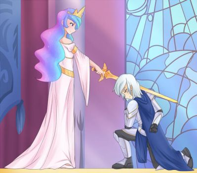 Celestial Knighting (Patreon Commission) by JonFawkes