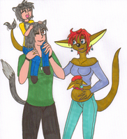 Another WolfGia Family Pic by NickyVendetta