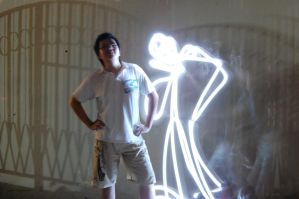 Fun Light Painting 4 by deYong