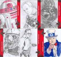 501st Legion Sketch Cards by DBergren