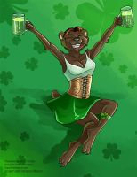 [Commission] Lydia - St Patricks Day by Ulario