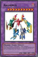 Abominus Yugioh-card by Tim1995