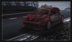Citroen C2 and my team by K00l0