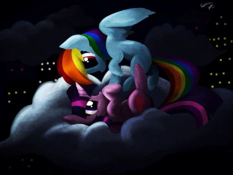 Twidash - Night in the city by IncendiaryBoobs