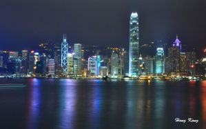 Hong Kong Skyline by MonZ88