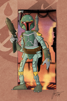 SW BOUNTY HUNTERS : BOBA FETT by melies