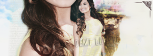 Demi Lovato Facebook Cover by huruekrn-ackles