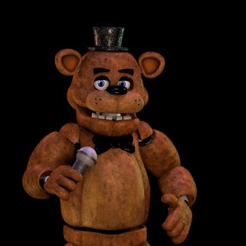 Freddy Fazbear Render (GaboCoArt) by LyricEntertainment
