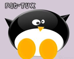 Fat Tux by Cerenza
