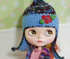 Hat for Blythe Crochet by iasio