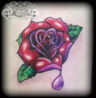 New School rose by state-of-art-tattoo