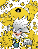 Silver VS Yellow Devil by MrTumminia