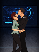 John and Jane Shepard by YukiMinamoto