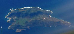 Levanzo Island from the air by Faunamelitensis