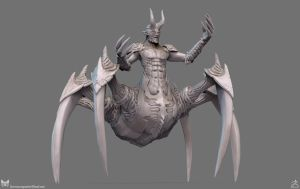 Beinrekker High Poly Sculpt View 2 by DTHerculean