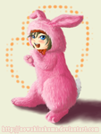 Ryu-chan bunny outfit by gamerro