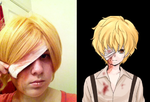 Dio Cosplay Makeup Attempt by AnimeGeek15