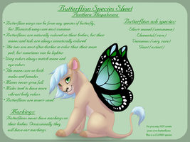 Butterflion Species Sheet by Magicionary