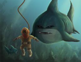 The Diver by brackenwald