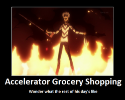 Accelerator Grocery Shoping by 01Accelerator10