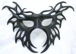 Black Butterfly Mask by Silverfaune