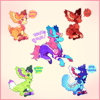 {Auctions} Babs and Babbies! by PhloxeButt