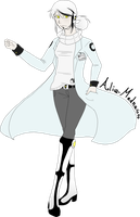 -GLaDOS as a Human- by Nega-Lara