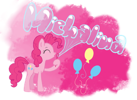.:Pinkie Pie blow bubbles:. - Request by xLilacNiallDoex