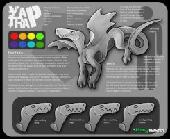 OPEN SPECIES - Yaptrap by TheJiggyMonster