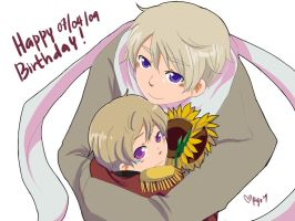 Happy birthdayyyyyy by ryo-hakkai