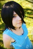 Kuchiki Rukia - Blue Dress by GaaSuka